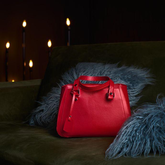 Leather bag for Christmas