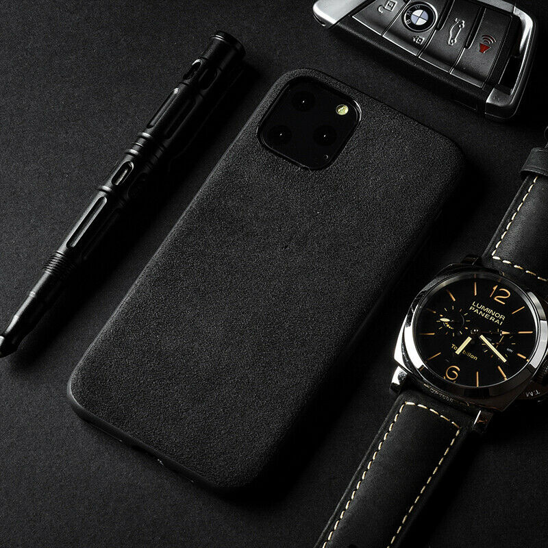 Suede-microfiber phone case